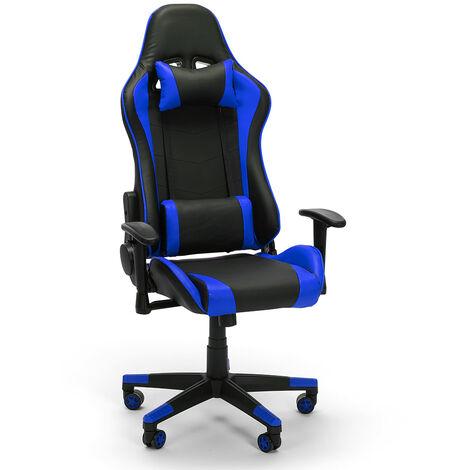 Ergonomischer Büro- und Gaming-Stuhl Design Richtungskissen und Armlehnen Sky