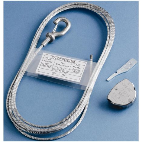 Erico 195801 Cable steel suspension for up to 45kg