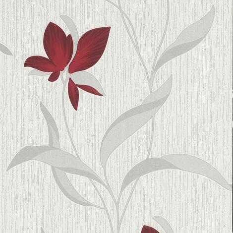 Erismann Fleur Wallpaper Red (9730-06)