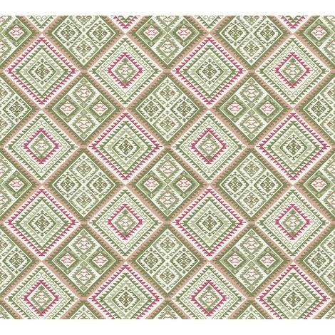 Erismann Hacienda Wallpaper Cream Feature 5411