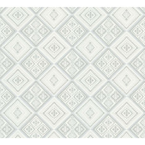 Erismann Hacienda Wallpaper Cream Feature 5411