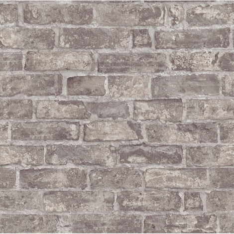 Erismann Imitations Brick Wallpaper Brown 6318-11 Full Roll