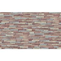 Erismann Imitations Brick Wallpaper Brown|Red 6301-07 Full Roll