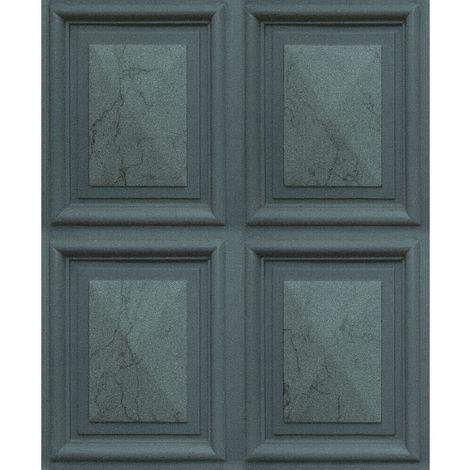Erismann Imitations Geometric Wallpaper Green 6319-18 Full Roll