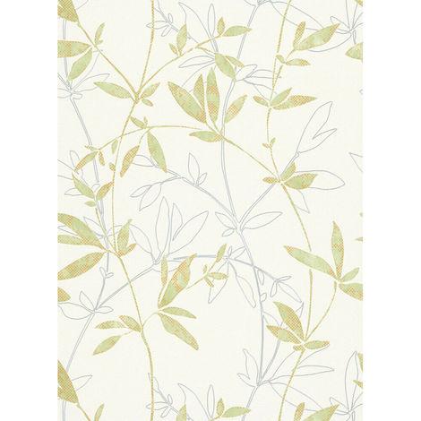 Erismann My Garden Floral Wallpaper Lime 6499-07 Full Roll