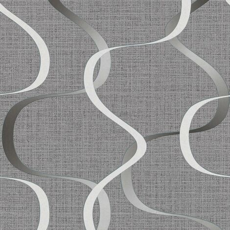 Erismann Retro Wallpaper Select Paste The Wall Grey White