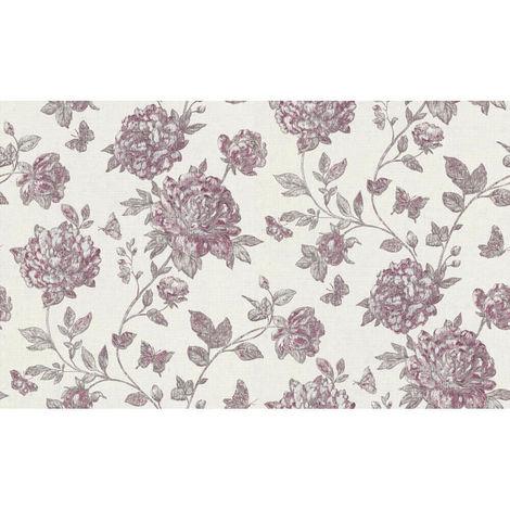 Erismann Vintage Wallpaper Purple 6335-16 Full Roll