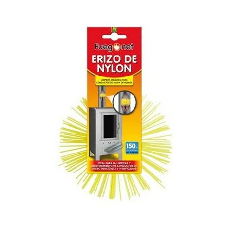 Erizo deshollinador nylon 150mm