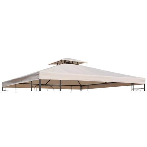 ersatz dach f r pavillon 62298 64103 beige 62299. Black Bedroom Furniture Sets. Home Design Ideas