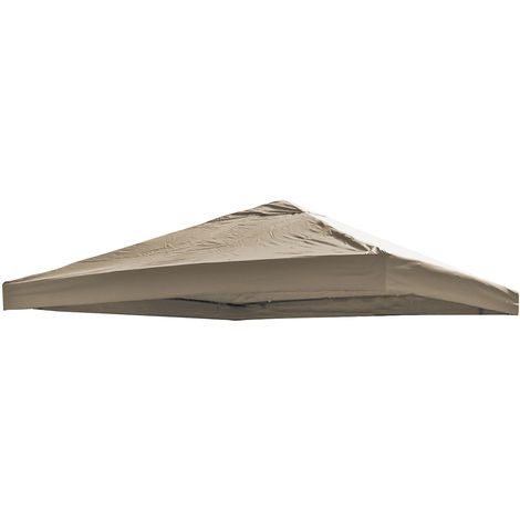 Ersatz Dach universell 3x3m Taupe-MMC3612Taupe