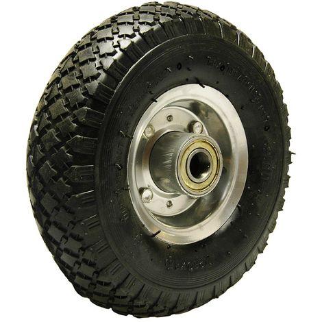 Ersatz-Reifen 260mm für Schubkarren Reifen Komplett Rad 3.00-4 luftbereift auf Stahlfelge