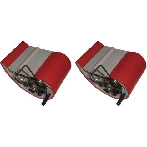 Ersatzbacken zu Plattenträger Super Klemm ( 1 Paar )