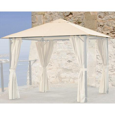 Ersatzdach 3x3m Gartenpavillon Nizza Sand Pavillon Partyzelt