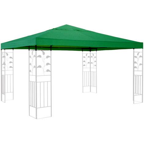Ersatzdach für Pavillon 3x3m Grün Ersatzbezug Pavillondach