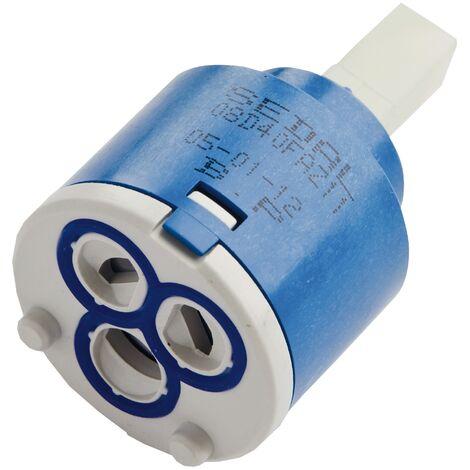 Ersatzkartusche Nummer 53 | Basic | Für Niederdruck-Armaturen | Mischbatterie | 40 mm