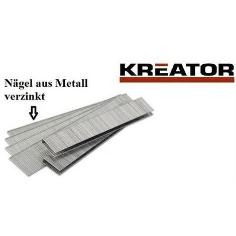 Ersatznägel für Tacker Hefter Länge 15mm 1500 Stück Metall verzinkt