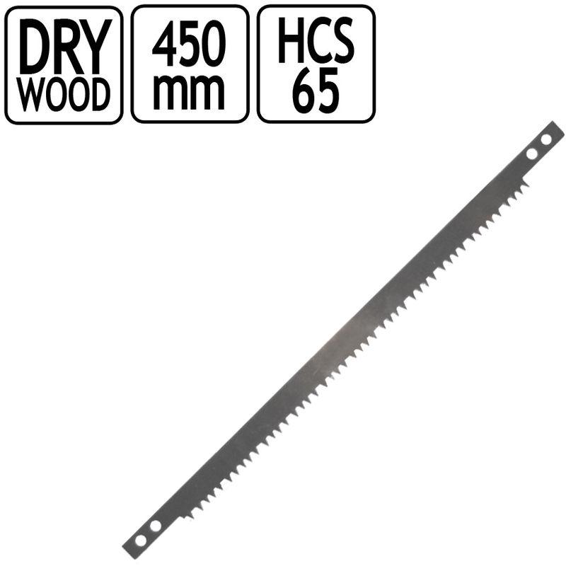 Ersatzs/ägeblatt S/ägeblatt Hands/äge B/ügels/äge 530 mm Trocken Holz