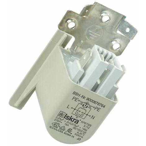 Ersatzteil - Entstörkondensator - - BOSCH, SIEMENS, CONSTRUCTA, NEFF - 296257
