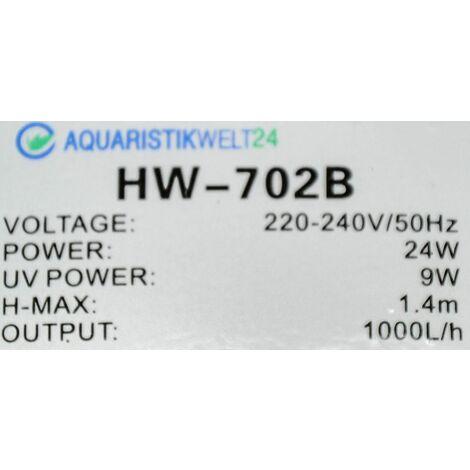 Ersatzteil Filterkopf Außenfilter HW-702B UVC Klärer