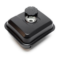 Ersatzteil für Benzinmotor 6,5 PS Benzintank schwarz