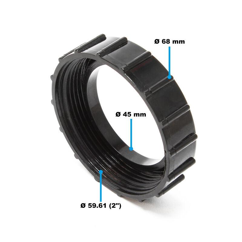 TTErsatzteil Jebao ECF-15000 Schraubring-Überwurfmutter Bio-Druckteichfilter