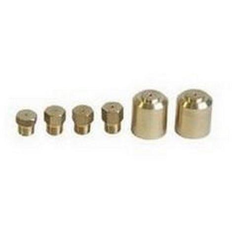 Ersatzteil - Kit d'injecteurs butane / propane - - BRANDT, SAUTER, VEDETTE, DE DIETRICH, FAGOR, OCEAN, THOMSON - 62156