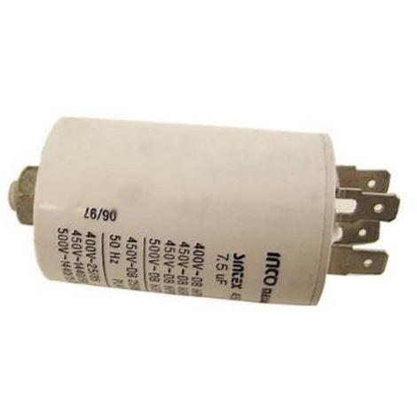 Kondensator 12 Mf 450 V f/ür W/äschetrockner Miele