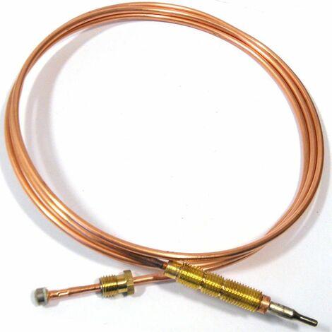 Ersatzteil - Thermoelement , lang, 1200 mm, für Küchenherd - - ARISTON HOTPOINT, INDESIT, SCHOLTES - 144013