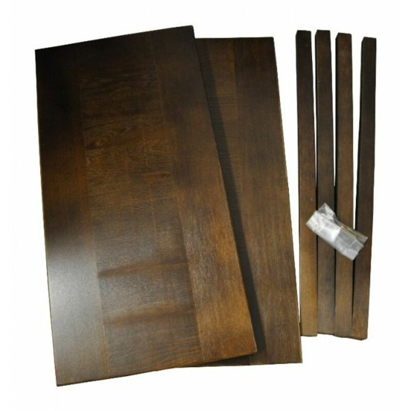 Erweiterungsset 45x90cm für Esstisch Eiche (Artikel: 38073) - BURI