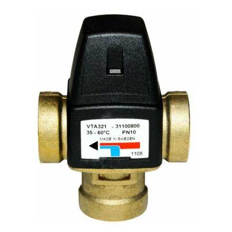 ESBE Mischautomat Brauchwassermischer VTA 321 35 bis 60 Grad C DN 20 Kvs 1,6 IG 3/4'' Art.Nr.3110080