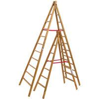 Escabeau bois double de peintre (plusieurs tailles disponibles)