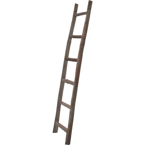 Escala de madera 44x8x180 cm