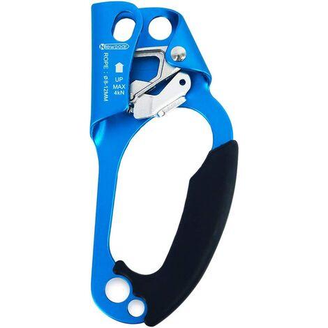 Escalade Arbre Arboriste Gear équipement Étrier Ergonomique Droite Hand Ascender pour 8–13 mm Corde