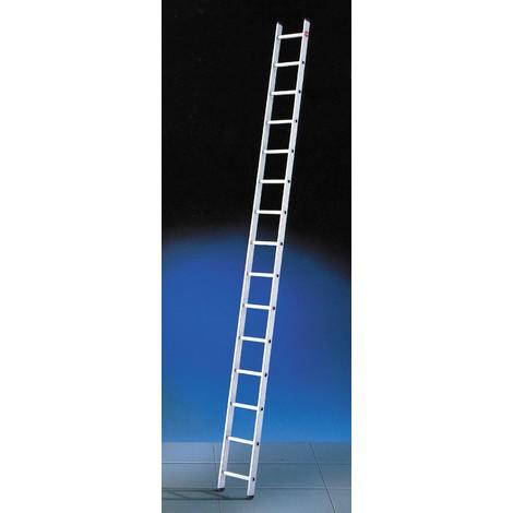 Escalera 1 tramo - aluminio - ProfiStep® uno - P7-01-005-V01