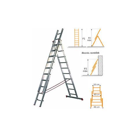 ESCALERA 3TR.COMBI.3425 3X09 2,62M-6,10M - CIES - 3425