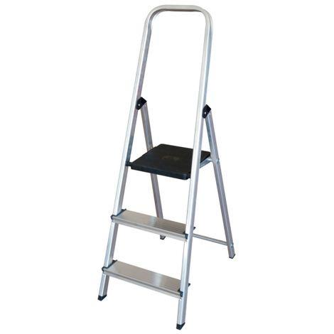 Escalera Altipesa 303n Aluminio (3 Peldaños)