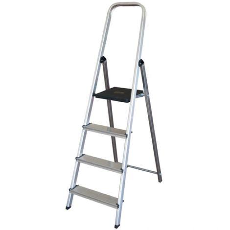 Escalera Altipesa 304n Aluminio (4 Peldaños)