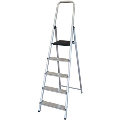 Escalera Altipesa 305n Aluminio (5 Peldaños)