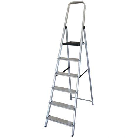 Escalera Altipesa 306n Aluminio (6 Peldaños)