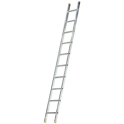 Escalera aluminio 1 tramo 14 peldaños