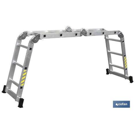 Escalera Aluminio 1 tramo EN 131