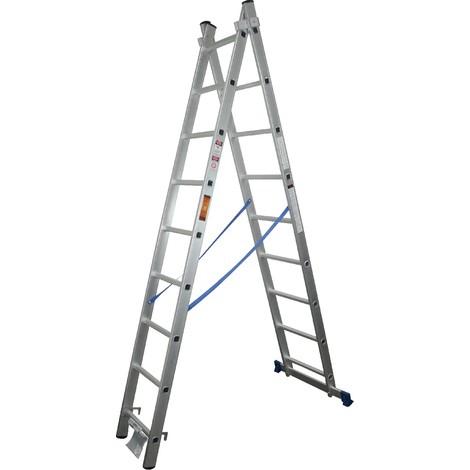 Escalera Aluminio 2X9 Extensible