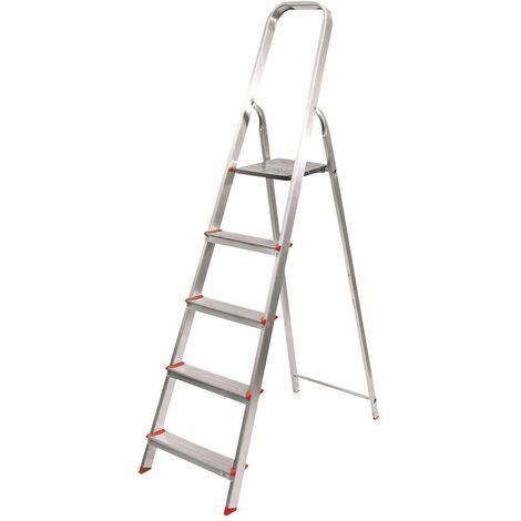 Escalera Aluminio 3 Peldaños - NEOFERR - Ph1007..