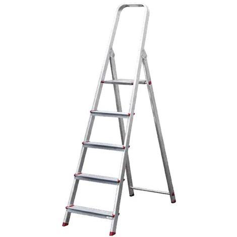 Escalera Aluminio 4 Peldaños - NEOFERR - Ph1008
