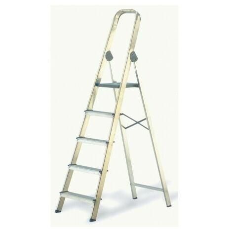 Escalera aluminio 4p.hogar