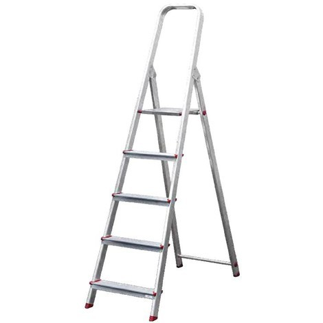 Escalera Aluminio 5 Peldaños - NEOFERR - Ph1009