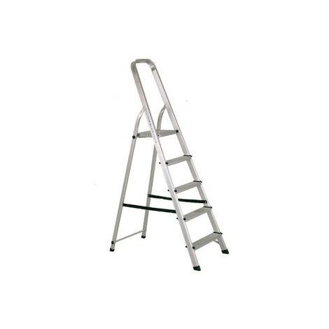 Escalera aluminio 5p. hogar en-131