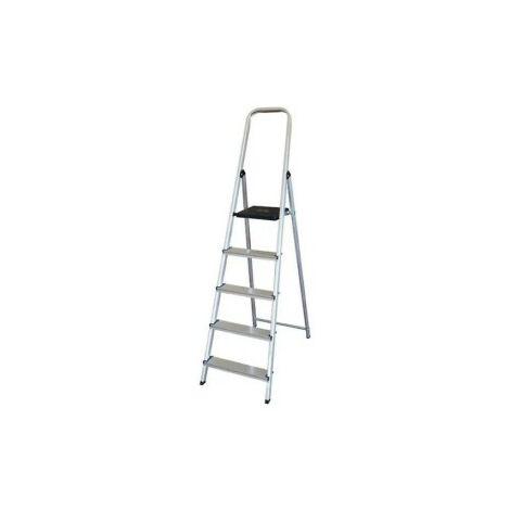 Escalera aluminio 5p.hogar