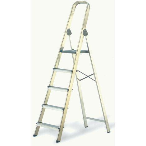 Escalera aluminio 6p.hogar