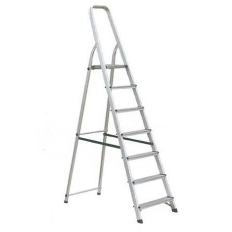 Escalera aluminio 7p. hogar en-131
